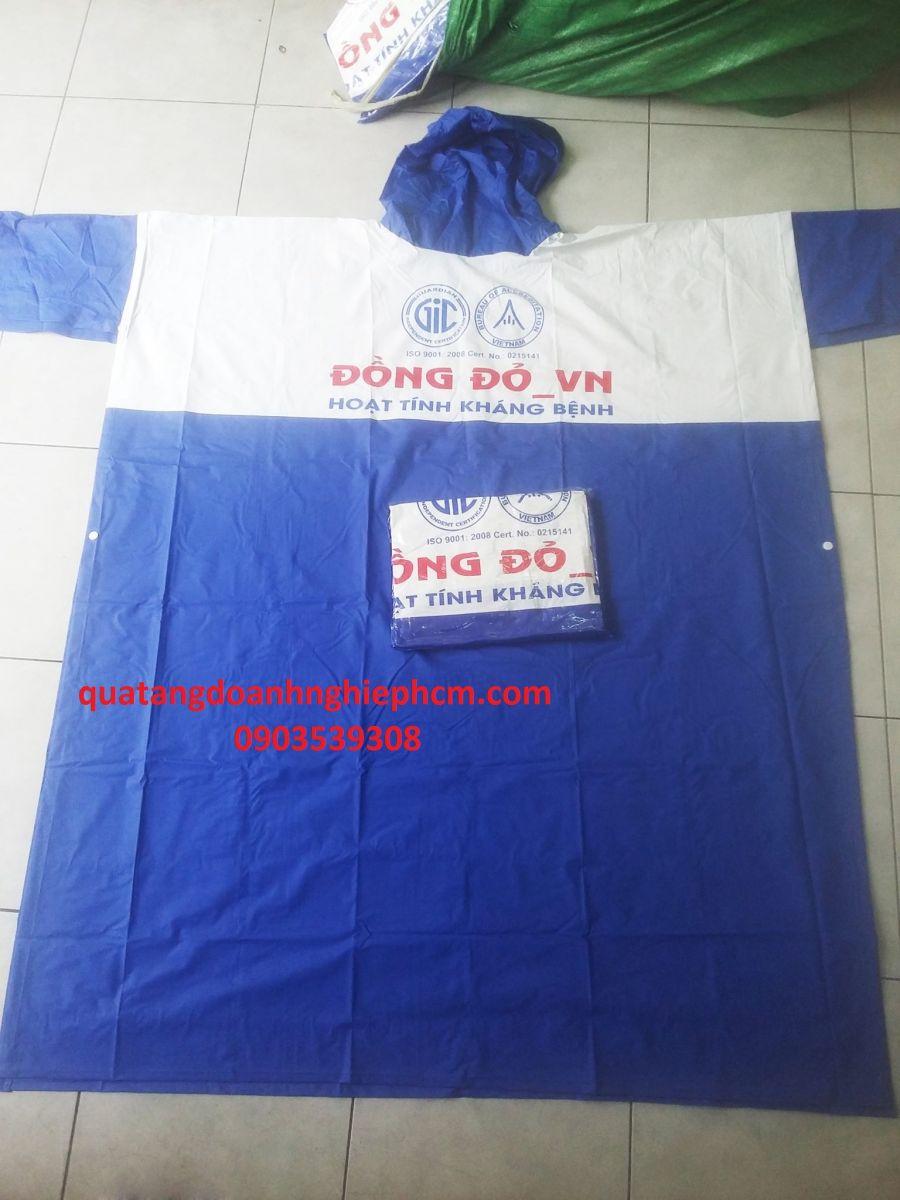 xưởng sản xuất áo mưa quà tặng